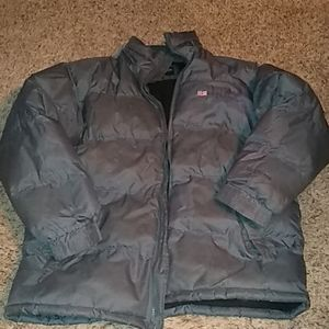 Men's Polo puffer jacket